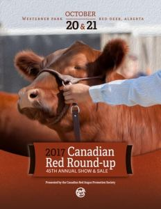 45th Annual Canadian Red Roundup 2017 by Bouchard Livestock     Page 1
