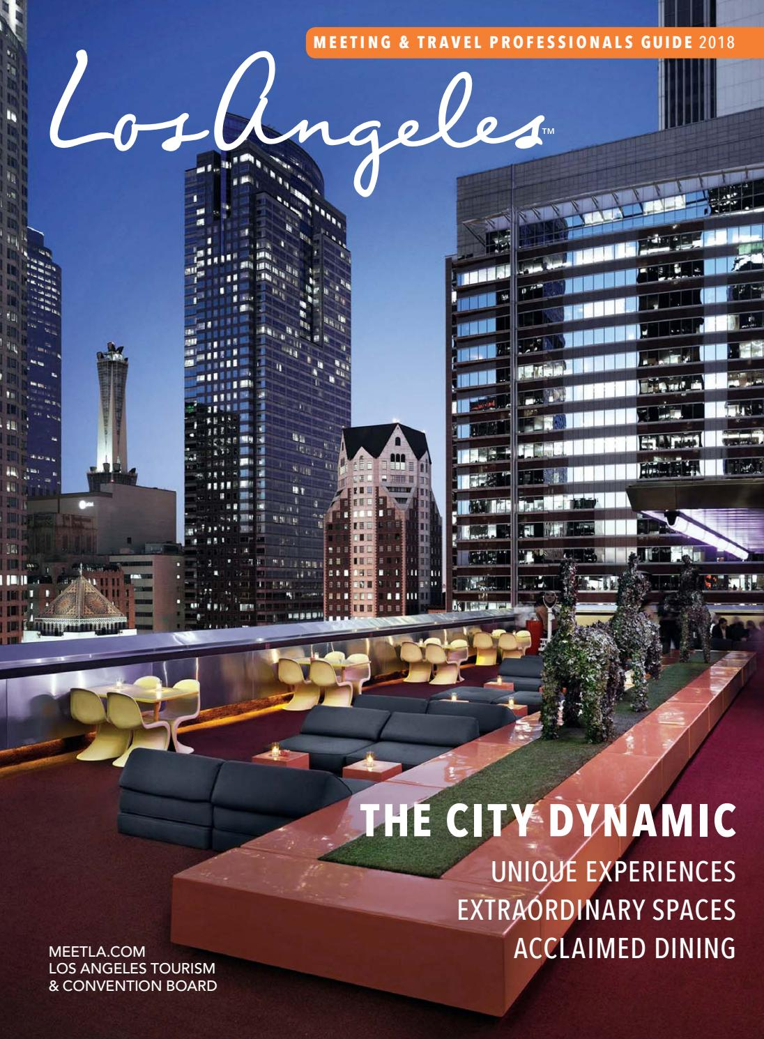 2018 Los Angeles Meeting Amp Travel Professionals Guide By