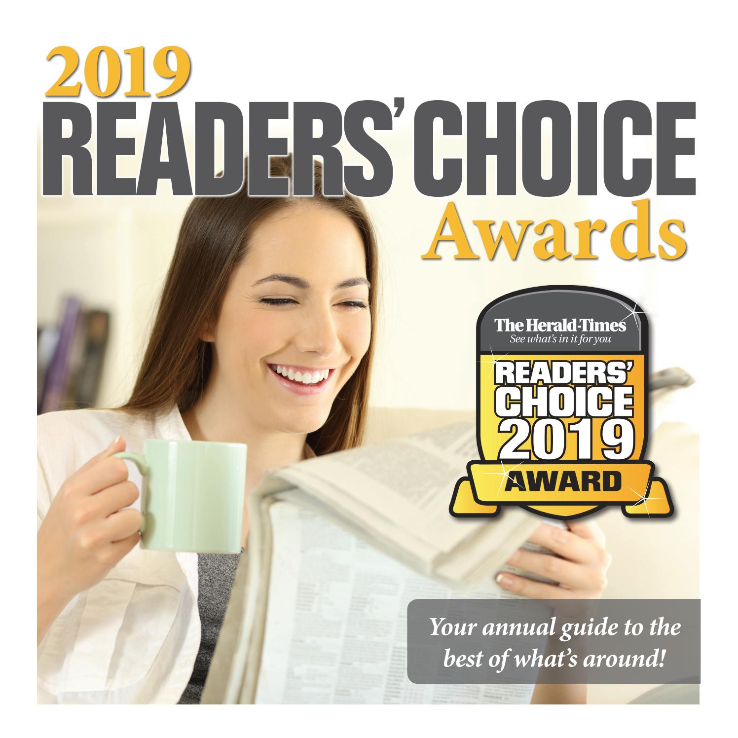 2019 Herald Times Readers Choice Special Section By