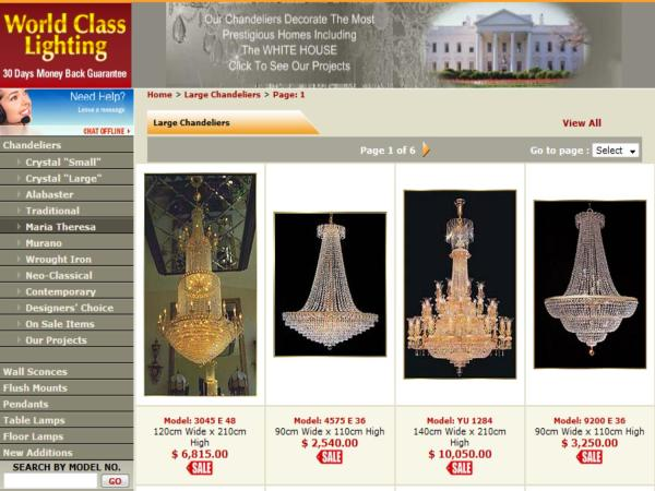 crystal chandelier website # 32
