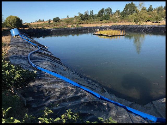 Pond Dam Liners Transport Amp Marine Covers