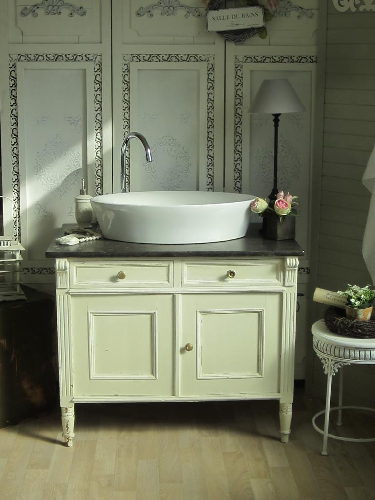 Antike Marmor Waschtische - Land & Liebe Badmöbel Landhaus