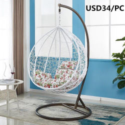 China Hanging Chair  Hanging Chair Manufacturers  Suppliers   Made     High Quality Outdoor Patio Wicker Rattan Hanging Egg Swing Chair