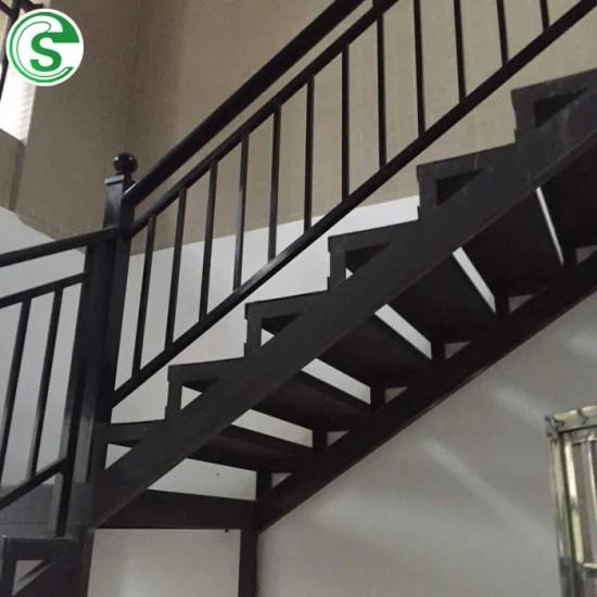 Steel Tubular Outdoor Balcony Stair Railing Apartment Ornamental | Tubular Stair Railings Design | Mid Century Modern | Simple | Home Tower | Welded | Creative