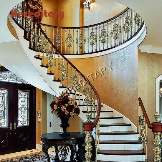 China Prefab Metal Stair Railing Wholesale Balustrade For Duplex   Duplex House Staircase Wall Design   Tv Cabinet   Stair Wall Paint   Living Room Staircase   Decoration   Exterior Staircase