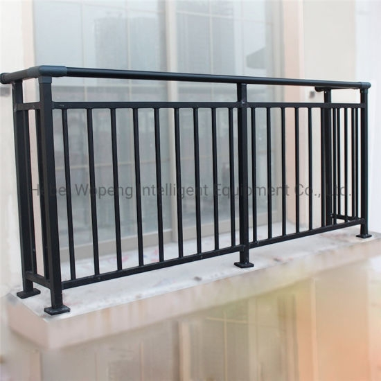 China Simple Design Outdoor Metal Wrought Iron Stair Railing Price | Exterior Iron Stair Railing | Steel | Exterior Ramp | Cheap | Wood | Contemporary