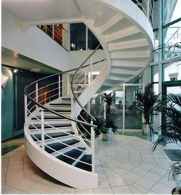 China Commercial Wood Stairs Lowes Non Slip Stair Treads Spiral   Outdoor Spiral Staircase Lowes   Treads Spiral   Wood Treads   Arke Eureka   Glass Railings   Slip Stair