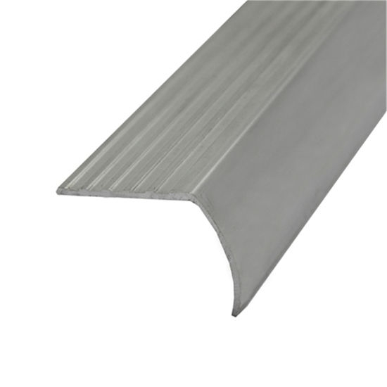 China Anti Slip Aluminum Metal Tile Stairs Nosing For Stair Edging | Non Slip Stair Treads Menards | Wood | Highland Hickory | Outdoor Stair | Flooring | Treads Lowes