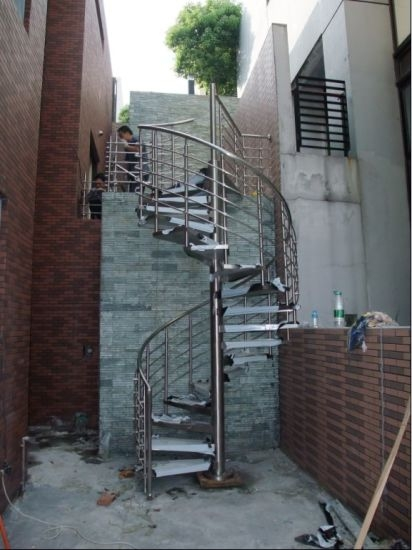 China Outdoor Used Spiral Staircase Prices Design Glass | Outdoor Spiral Staircase Cost
