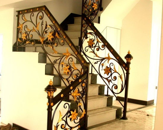 Wrought Iron Stair Railing Design China Wrought Iron Stair | Outdoor Iron Staircase Designs | Round | Home Stair Design | Backyard | Spiral Staircase | Eye Catching