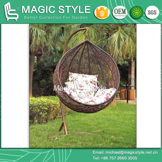 China High Quality Best Price Hammock Big Round Wicker Swing Hanging     High Quality Best Price Hammock Big Round Wicker Swing Hanging Chair  Balcony Swing  Magic Style