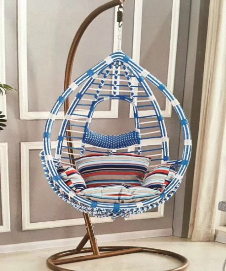 China High Quality Hanging Chair SGS PE Rattan Swing Garden Chair     High Quality Hanging Chair SGS PE Rattan Swing Garden Chair
