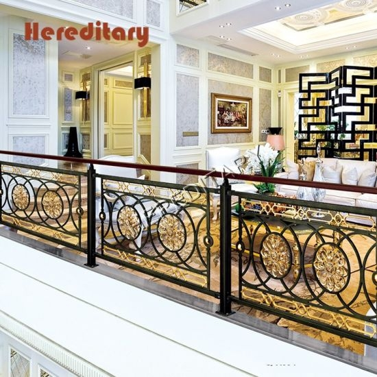 China Black And Gold Wrought Iron Stair Railing Panels For   Wrought Iron Stair Railings Interior Cost   Stair Parts   Iron Staircase Railings   Rod Iron Balusters   Wood   Stair Spindles