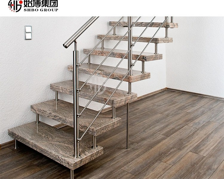 China Glass Balustrade Stainless Steel Handrails Stainless Steel | Stainless Steel Staircase Railing With Glass | Thin Glass | Stairway | Tempered Glass | Handrail | Banister