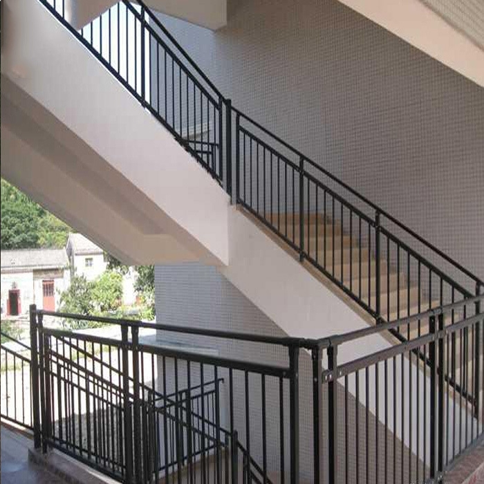 China Industry Iron Metal Stair Railing Designs Handrail China | Industrial Stair Railing Design | Industrial Style | All Metal Interior | Contemporary Metal | Small Stair | Detail Industrial