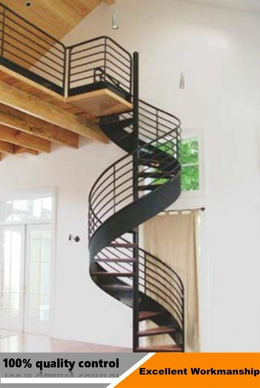 China Modern Design Stainless Steel Glass Spiral Staircase China | Flexible Handrail For Spiral Staircase | Staircase Ideas | Stair Kit | Loft Stairs | Stair Parts | Modern Staircase