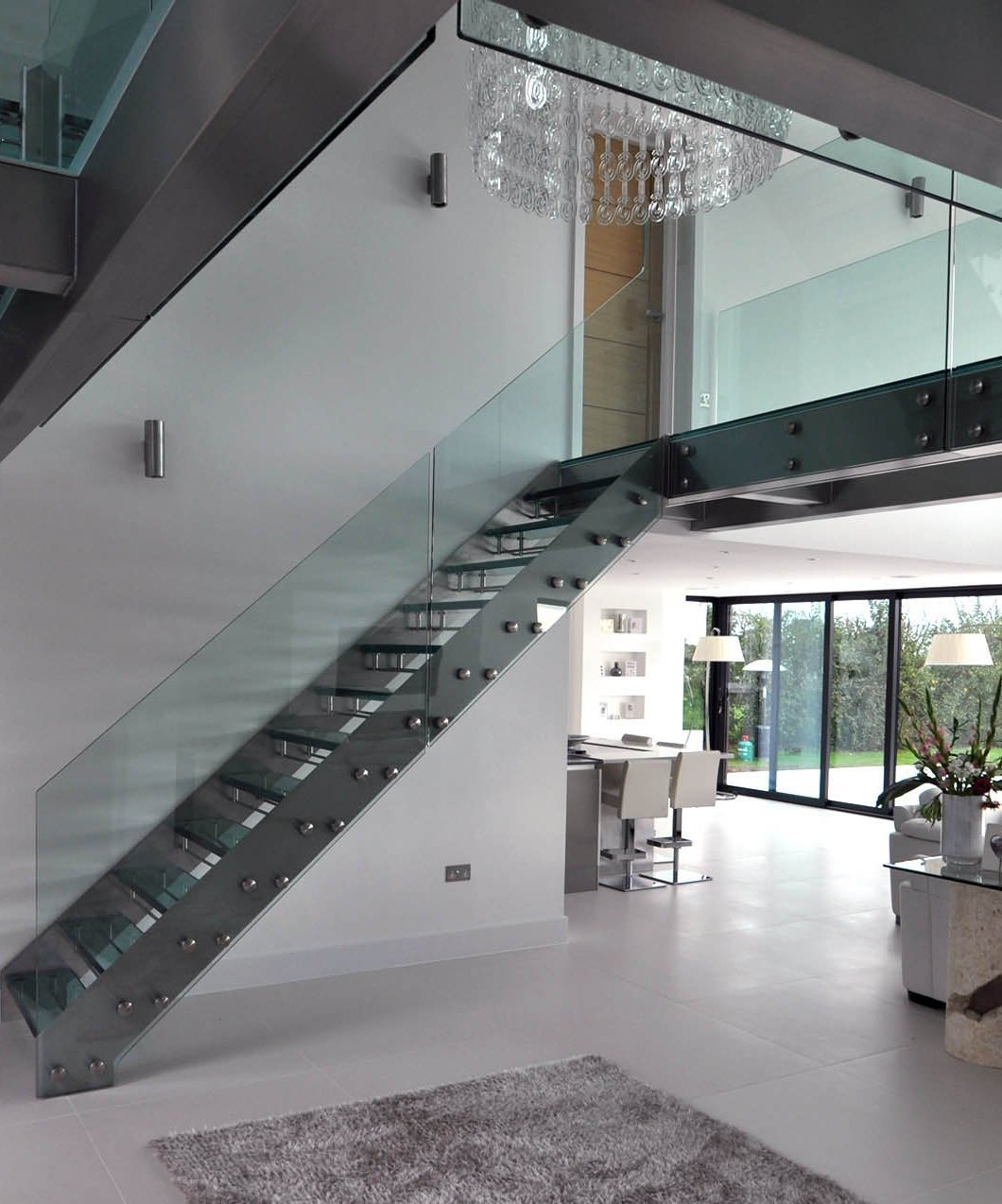 China Low Cost Design Stair Case Used Indoor Steel Glass Straight | Cost Of Outdoor Stairs | Handrail | Staircase | Concrete Steps | Stair Treads | Spiral Staircase