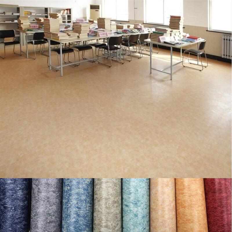 China Vinyl Indoor Use Pvc Linoleum Flooring Roll With