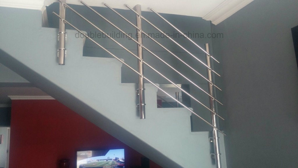 China Concrete Stairs Stainless Steel Railing Design Side Mount   Side Mount Stair Railing   Custom   Westbury   Handle   Hand Forged   Stainless Steel