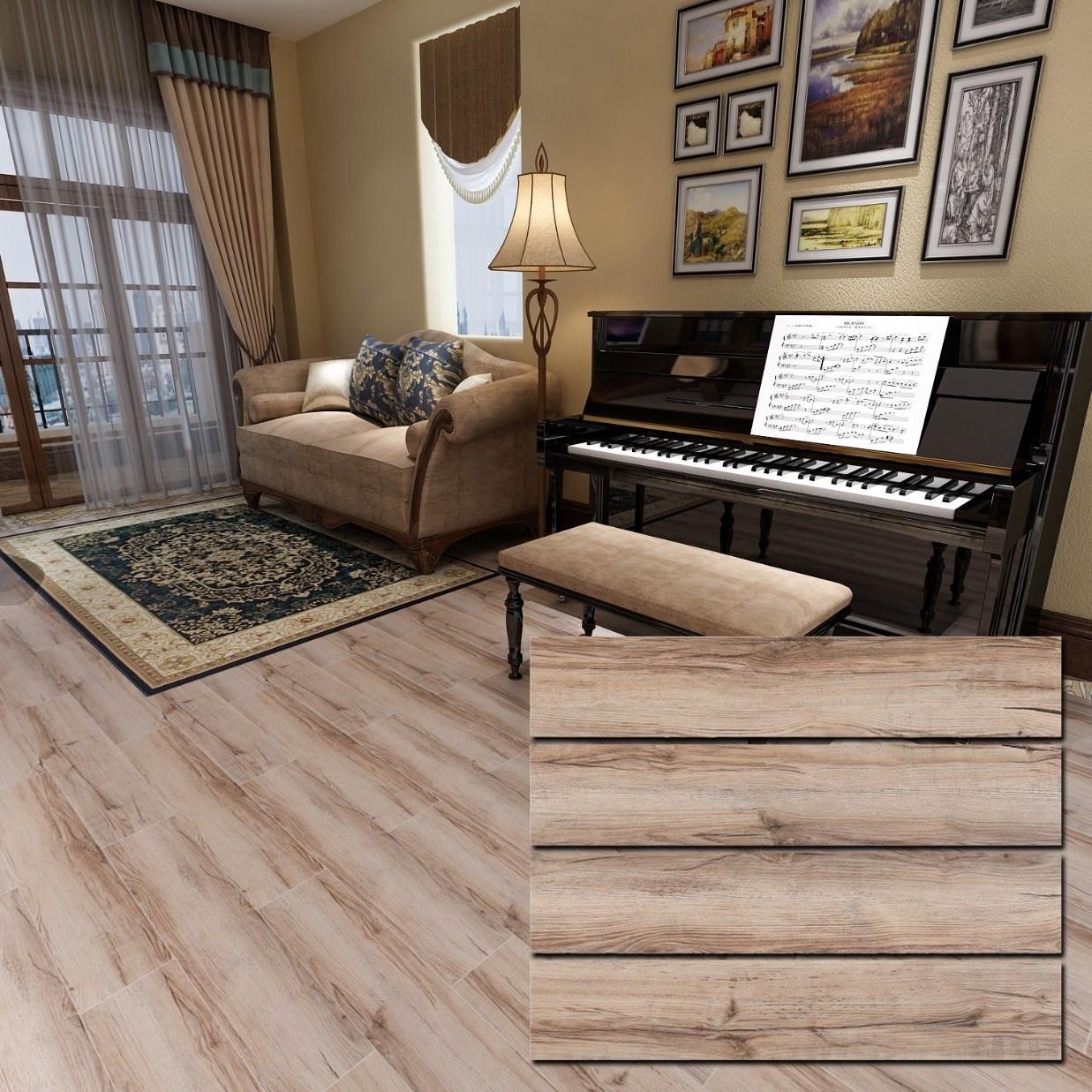 China 150X800Mm Inkjet Printing Wood Look Tile On Stairs China | Wood Look Tile For Stairs | Weathered Wood Distressed | Ceramic | Bedroom | Rocell Living Room | Porcelain
