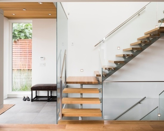 China Small Space L Shape Staircase With Glass Balustrade China | Staircase For Small Area | Beautiful | Spiral | Compact | Low Cost | Living Room