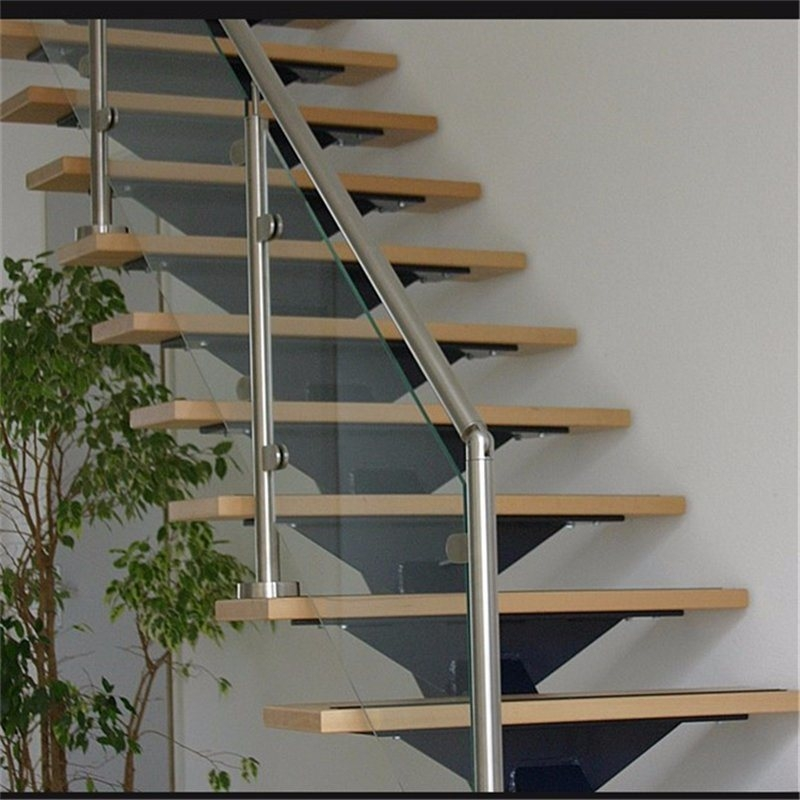China Indoor Stainless Steel Glass Stair Railing Stainless Steel   Metal Outdoor Handrails For Stairs   Front Porch   Hand Rail   Concrete Steps   Stainless Steel   Wrought Iron Handrails