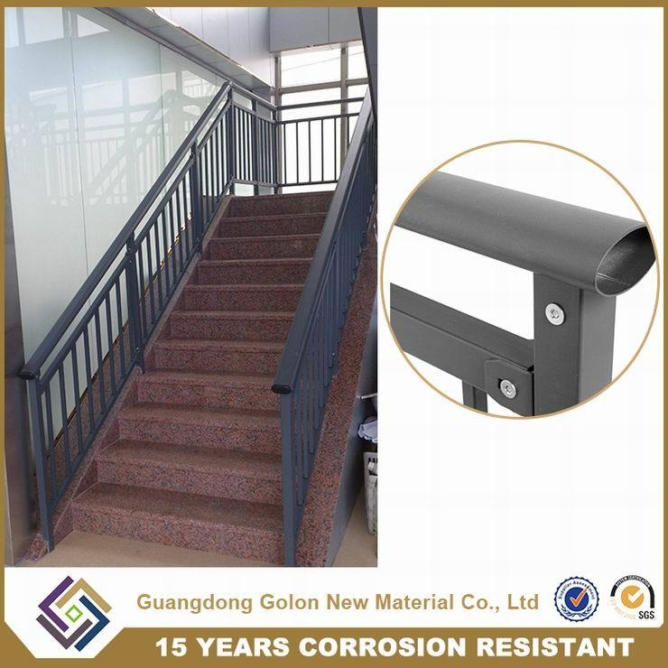 China Outdoor Iron Stairs Cast Iron Staircase Railing China   Cast Iron Staircase Railing   Modern   Grill   Rod Iron   Floor   Interior