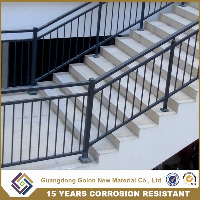 China Outdoor Metal Stair Railing China Stair Railing Metal | Outdoor Metal Stair Railing | Ornamental | Banister | Custom | Urban Metal Deck | Garden