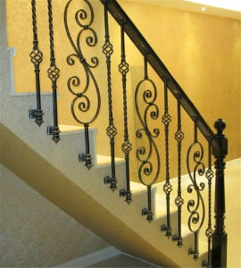 China Hot Sale Stair Handrail Staircase Spindles Railing China   Stair Handrails For Sale   Iron Staircase   Cable Railing   Deck Railing   Handrail Bracket   Balusters