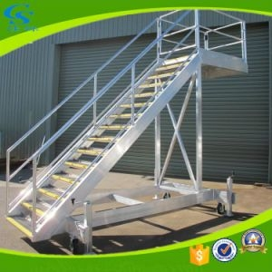 China Modern Portable Outdoor Galvanized Metal Staircase China | Outdoor Metal Stair Steps | Stair Railing | Stair Riser | Deck Stairs | Stair Stringer | Wrought Iron Railings