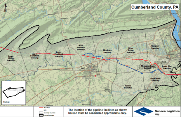 Cumberland County property owners to find out soon if pipeline can     Cumberland County property owners to find out soon if pipeline can run  through land   PennLive com