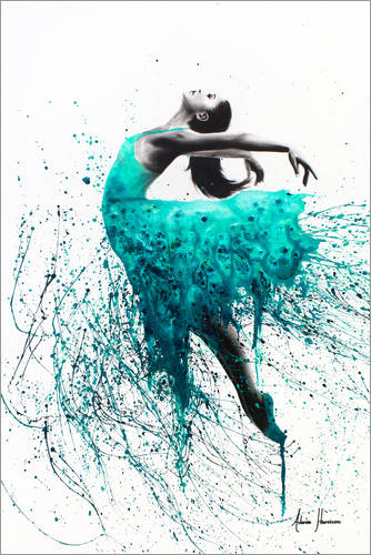 Kingfisher Dance Posters And Prints Posterlounge Com
