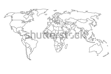 World map outline vector full hd maps locations another world vector world map a free accurate world map in vector format blank vector world map simple outline of world map on transparent background royalty free simple gumiabroncs Images