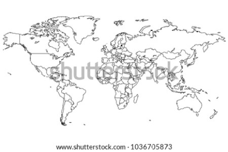 World map high resolution black and white path decorations accurate vector world map detailed copy map world high resolution accurate vector world map detailed copy map world high resolution vector world map a free gumiabroncs Image collections
