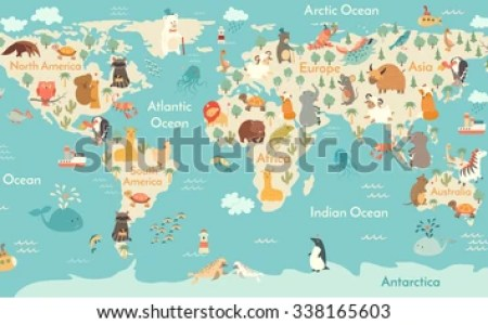 Africa Map For Children K Pictures K Pictures Full HQ Wallpaper - Printable childrens world map