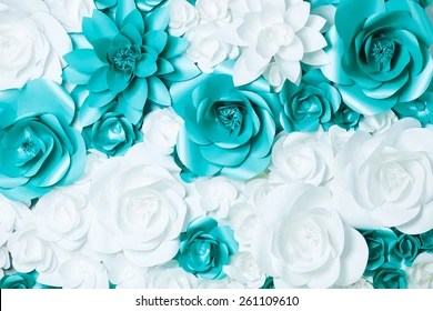 Turquoise Flower Images  Stock Photos   Vectors  10  Off    Shutterstock background of turquoise and white flowers