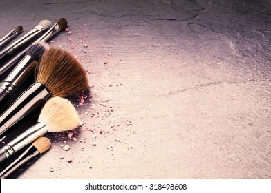 Makeup Background Images  Stock Photos   Vectors   Shutterstock Collection of professional makeup brushes