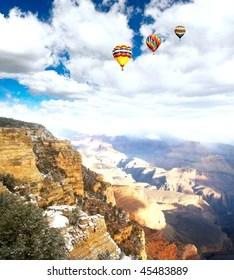 hot air balloon grand canyon # 93