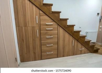 Storage Under Stairs Images Stock Photos Vectors Shutterstock   Modern Under Stairs Storage   Storage Underneath   Bed   External   Concealed   Loft