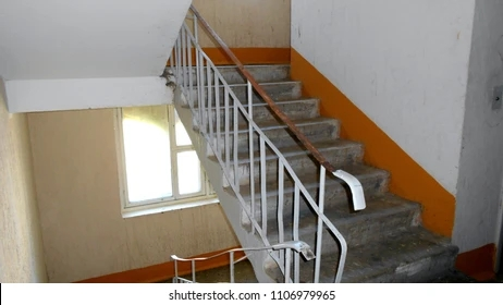 Stairs Inside Home Images Stock Photos Vectors Shutterstock | Stairs Design Inside Home | Traditional | Iron | Amazing | Outside | Short