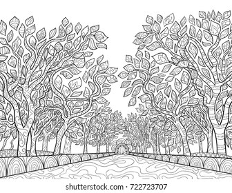 trees coloring pages # 59