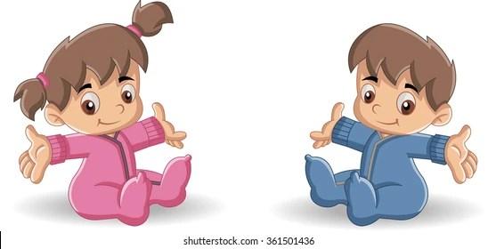 Toddler Emotion Cartoon
