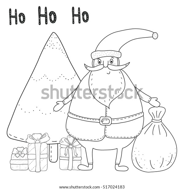 coloring pages of santa claus # 66