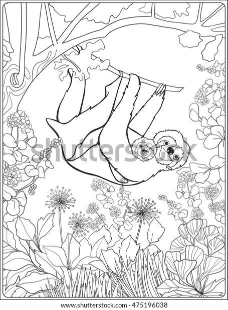 forest coloring page # 64
