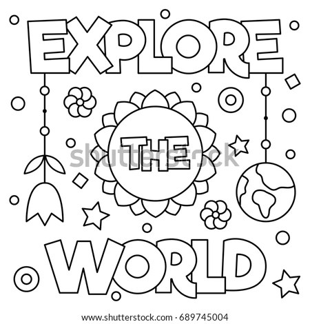 world coloring page # 69