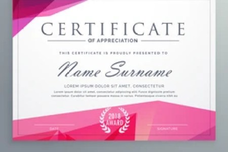 Certificate Of Appreciation Images  Stock Photos   Vectors     modern certificate of appreciation creative template