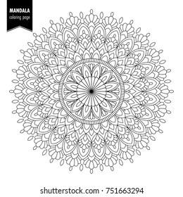 coloring pages mandalas # 24