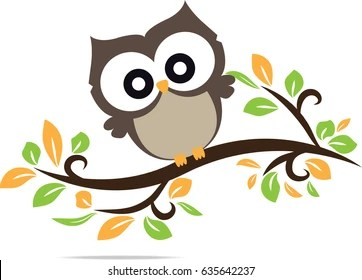 Image of: Snowy Owl Owl Cute In Vector Shutterstock Cute Owl Images Stock Photos Vectors Shutterstock