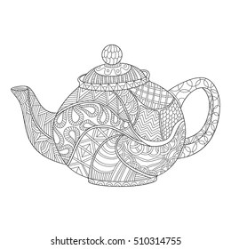 teapot coloring page # 40