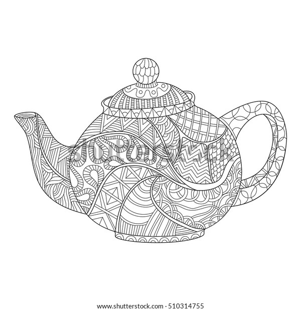 teapot coloring page # 32